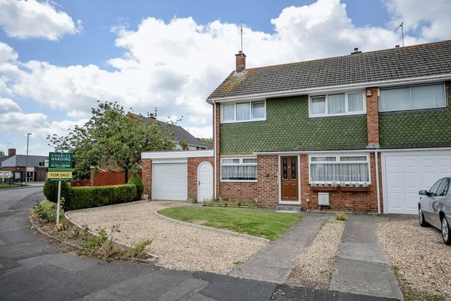 Thumbnail End terrace house for sale in Towcester Road, Swindon