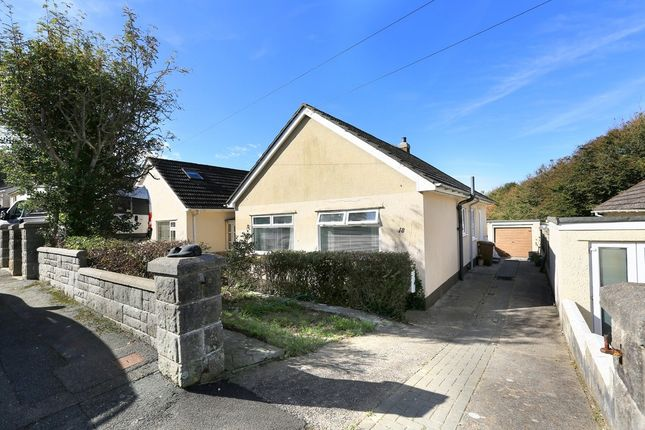 Thumbnail Semi-detached bungalow for sale in Belle Vue Rise, Plymouth