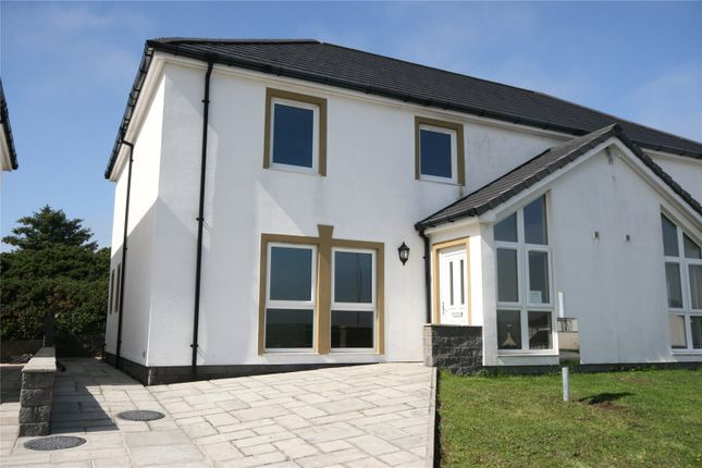 Thumbnail Semi-detached house for sale in The Fairways, Chalet Road, Portpartrick, Stranraer