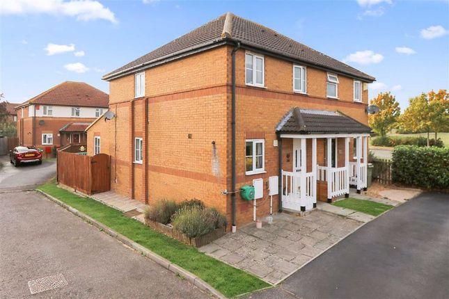 3 bed semi-detached house to rent in Pipston Green, Kents Hill, Milton Keynes, Bucks MK7