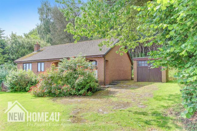Thumbnail Detached bungalow for sale in Fron Park Road, Holywell
