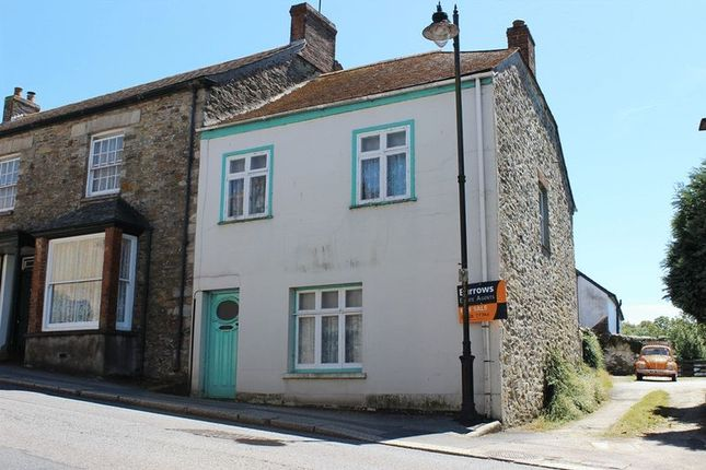 Thumbnail Semi-detached house for sale in Fore Street, Grampound, Truro