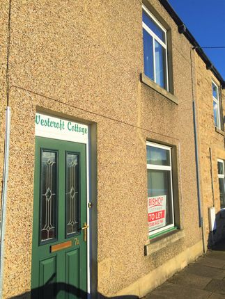 Thumbnail Terraced house to rent in Westcroft, Stanhope