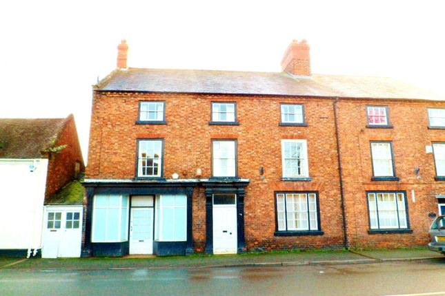 Thumbnail Terraced house for sale in High Street, Overton, Wrexham