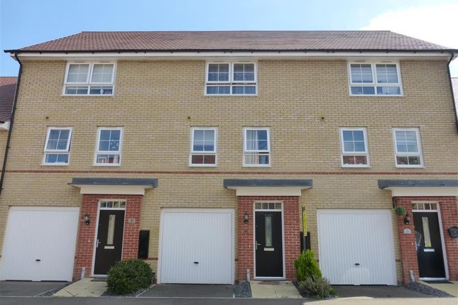 Thumbnail End terrace house to rent in Justice Way, Hampton Vale, Peterborough