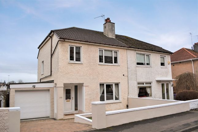 Thumbnail Semi-detached house for sale in Southbrae Drive, Jordanhill, Glasgow