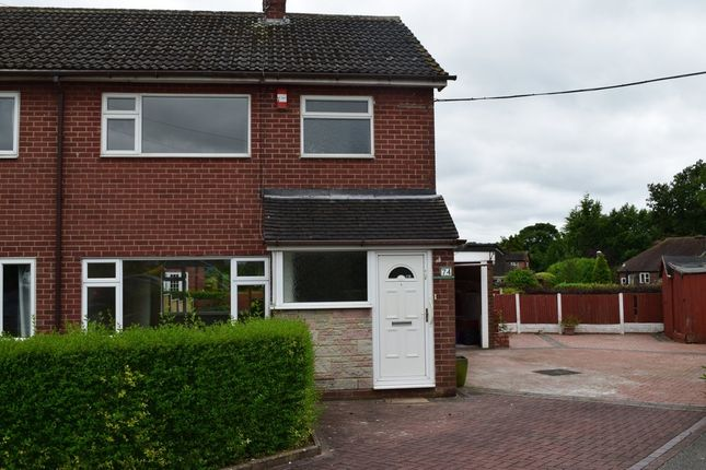 Thumbnail Semi-detached house to rent in Ashendene Grove, Stoke-On-Trent
