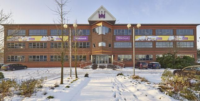 Thumbnail Office for sale in Former Monarch Airlines Hq, 134 Percival Way, London Luton Airport, Luton, Bedfordshire