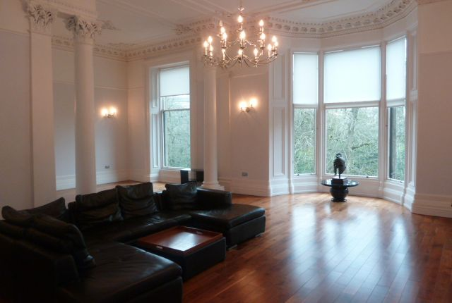 Thumbnail Flat to rent in Clairmont Gardens, Glasgow