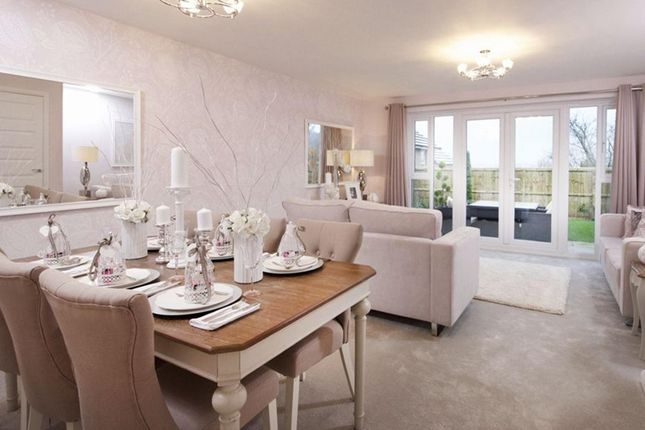 "Thumbnail Semi-detached house for sale in ""Oakham"" at Plox Brow, Tarleton, Preston"