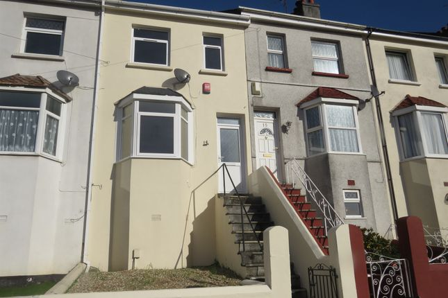 Thumbnail Terraced house for sale in Crantock Terrace, Plymouth