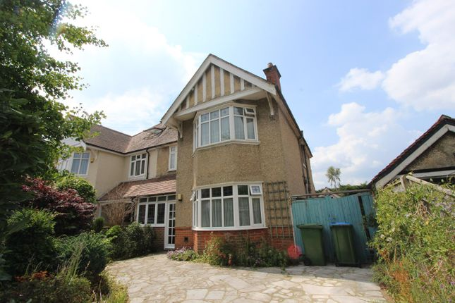 Thumbnail Semi-detached house for sale in Evelyn Crescent, Upper Shirley, Southampton