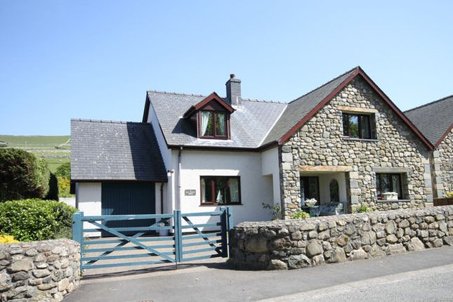 Thumbnail Detached house for sale in Llwyngwril, Gwynedd