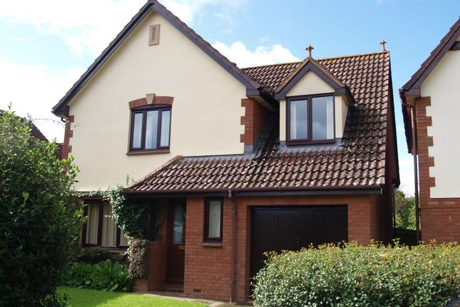 Thumbnail Detached house for sale in Slewton Crescent, Whimple, Exeter