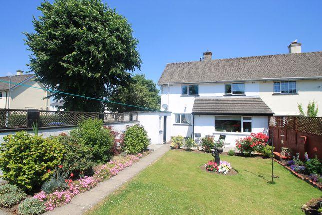 Thumbnail End terrace house for sale in Liskeard Road, Saltash