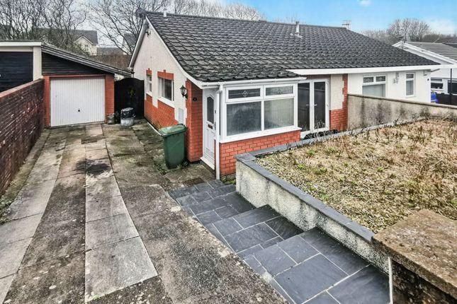 Thumbnail Semi-detached bungalow for sale in Heathlands, Ystrad Mynach, Hengoed