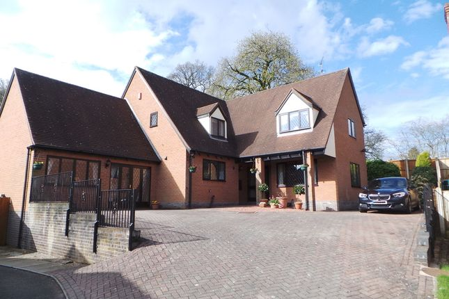 Thumbnail Detached house for sale in Garners Walk, Madeley, Crewe