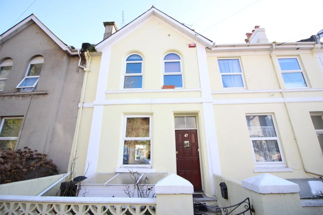 Thumbnail Terraced house to rent in Parkfield Road, Torquay