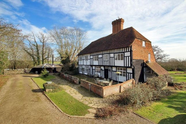 Thumbnail Detached house for sale in Four Oaks Road, Headcorn, Kent