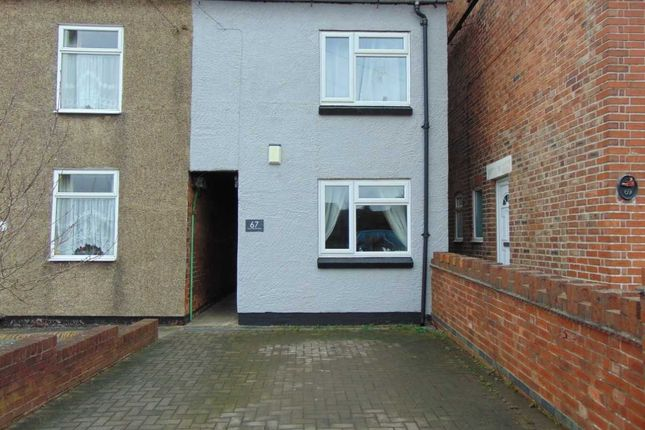 2 bed end terrace house for sale in Mount Pleasant Road, Castle Gresley, Swadlincote, Derbyshire DE11