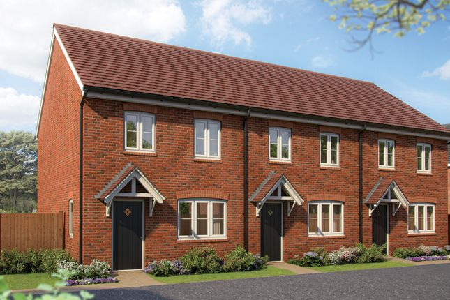"Thumbnail Terraced house for sale in ""The Magnolia "" at Silverwoods Way, Kidderminster"