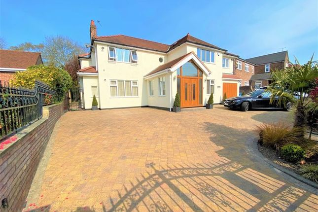 Thumbnail Detached house for sale in Sefton Drive, Worsley Village, Manchester