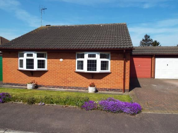 Thumbnail Bungalow for sale in Donald Close, Leicester, Leicestershire