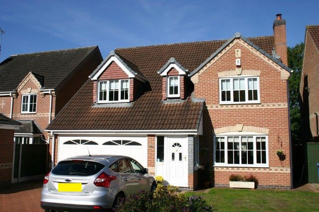 Thumbnail Detached house for sale in Whistlestop Close, Mickleover, Derby
