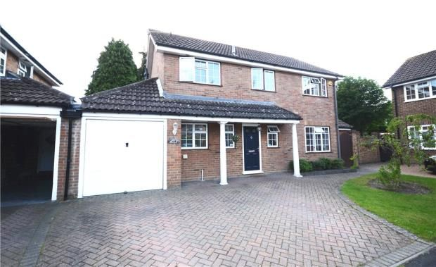 Thumbnail Detached house for sale in Ashbury Drive, Blackwater, Camberley