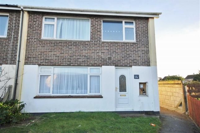 Thumbnail End terrace house to rent in Pellew Close, Padstow