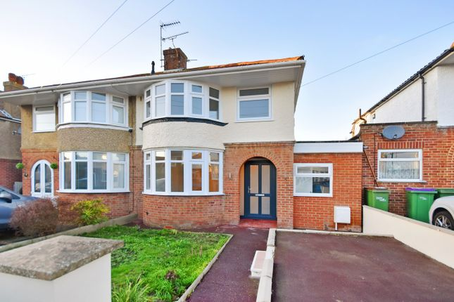 Thumbnail Semi-detached house for sale in Foreland Avenue, Folkestone