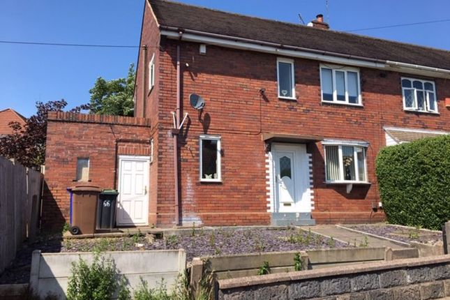 Front of Cemlyn Avenue, Blurton, Stoke-On-Trent ST3