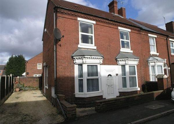 Thumbnail End terrace house for sale in Compton Road, Cradley Heath