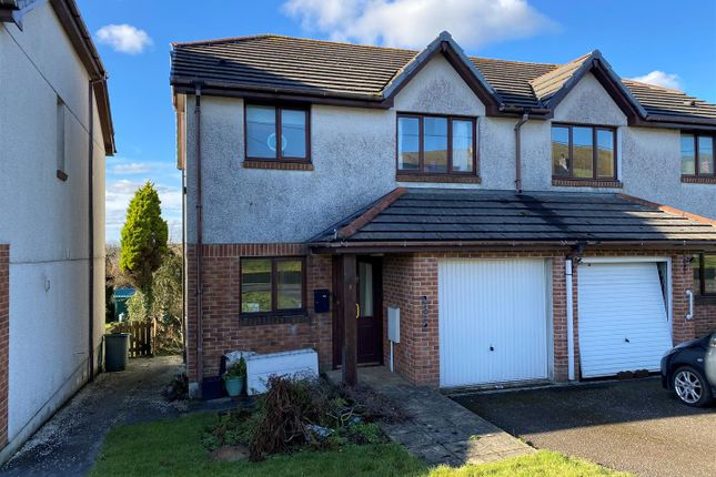 3 bed semi-detached house for sale in Mclean Drive, Foxhole, St. Austell PL26
