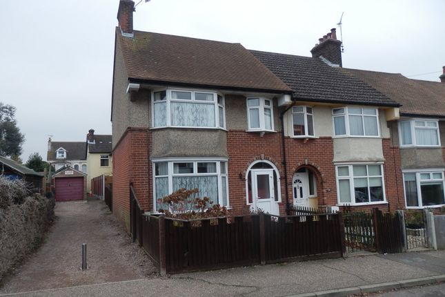 Thumbnail End terrace house to rent in Portland Avenue, Dovercourt
