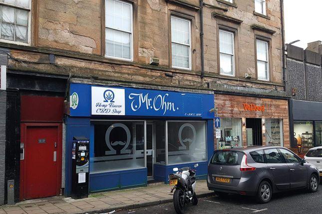 Retail premises to let in Bridge Street, Dunfermline