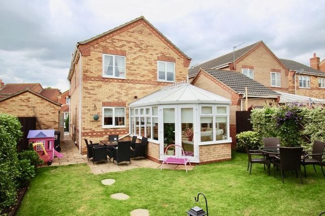 Thumbnail Detached house for sale in Lady Meers Road, Cherry Willingham, Lincoln