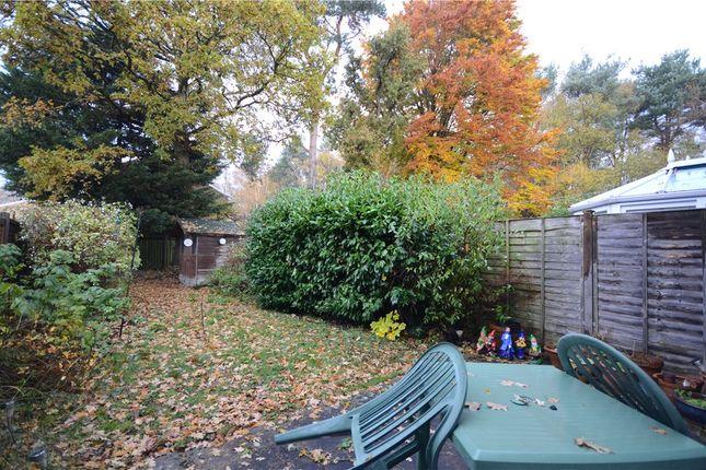 Rear Garden of Keble Way, Claremont Wood, Sandhurst GU47