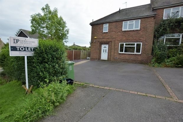Thumbnail Semi-detached house to rent in Church Street, Fritchley, Belper, Derbyshire
