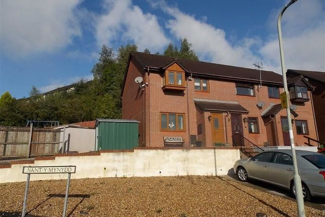 Thumbnail End terrace house for sale in Nant Y Mynydd, Coed Y Cwm, Pontypridd