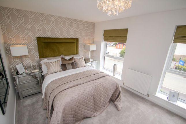 Bedroom One of The Jasmine, Off Eaves Lane, Bucknall, Stoke-On-Trent ST2