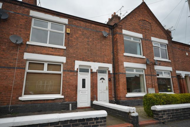 Thumbnail Terraced house to rent in Smallman Road, Crewe