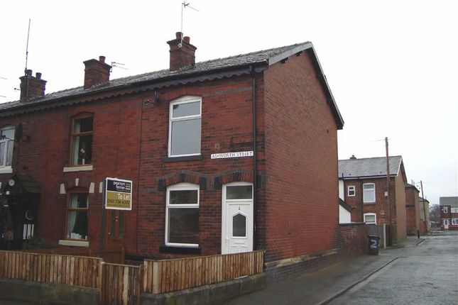 Thumbnail End terrace house to rent in Ashworth Street, Radcliffe, Manchester