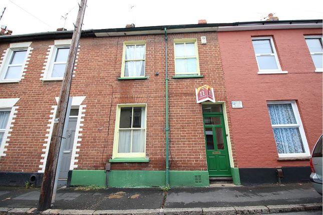 Thumbnail Terraced house for sale in Codrington Street, Newtown, Exeter