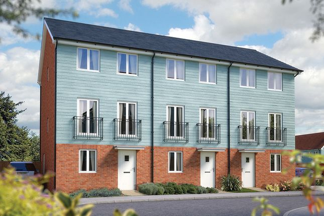 """Thumbnail Terraced house for sale in """"The Winchcombe"""" at Valerian Gardens, Soham, Ely"""