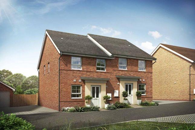 "Thumbnail Terraced house for sale in ""Richmond"" at Briggington, Leighton Buzzard"