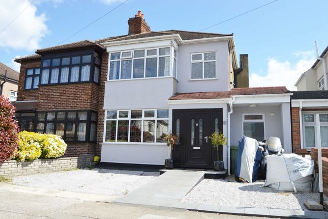 Thumbnail Semi-detached house for sale in Albany Road, Hornchurch