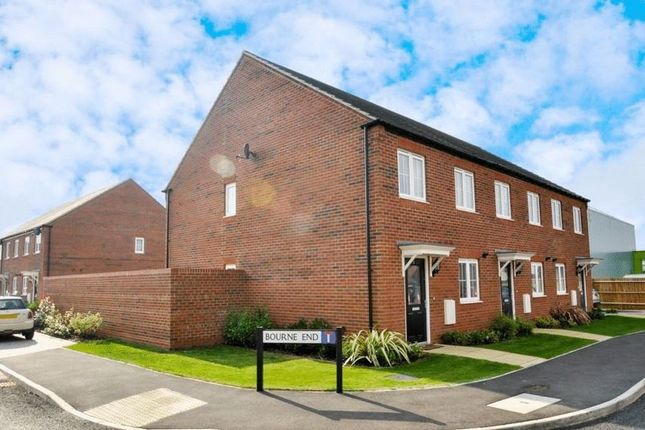 Thumbnail End terrace house for sale in Broad Way, Upper Heyford, Bicester