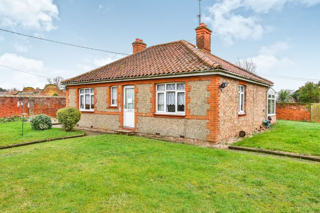 Thumbnail Detached bungalow for sale in Holt Road, Fakenham