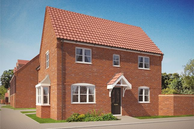 """Thumbnail Semi-detached house for sale in """"The Gainsborough"""" at Norwich Road, Wymondham"""